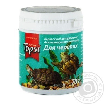Topsi Dry food for turtles 70g - buy, prices for Auchan - photo 1
