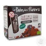 Хлебцы Le Pain des flevrs органические безглютеновые с какао 150г