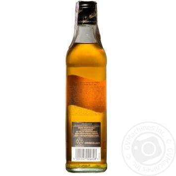 Виски Johnnie Walker Black Label 375мл - купить, цены на Novus - фото 2