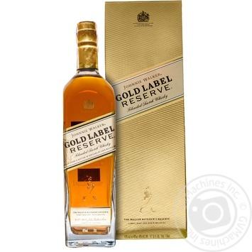 Виски Johnnie Walker Gold Label Reserve в коробке 700мл