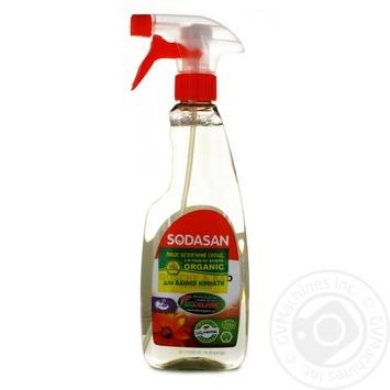 Средство для чистки ванной комнаты Sodasan organic  500мл