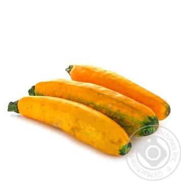Vegetables zucchini yellow fresh