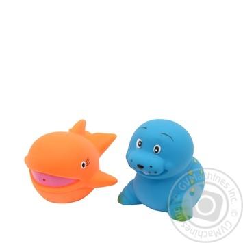Набор игрушек для ванны Baby Team Забавное купание - купить, цены на Фуршет - фото 4