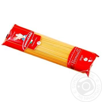 Изделия макаронные Pasta ZARA Паста Вермичелли 500г