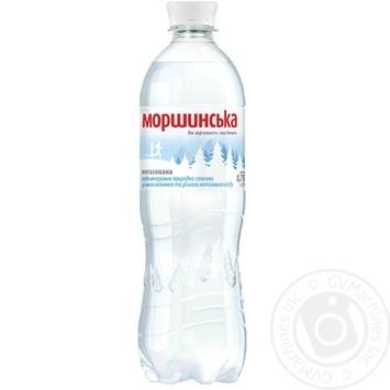 Минеральная вода Моршинская природная негазированная 0,75л - купить, цены на Фуршет - фото 1