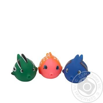 Набор игрушек для ванны Baby Team Цветные рыбки - купить, цены на Novus - фото 3