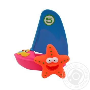 Набор игрушек Baby Team для ванной Веселый серфер 9007 - купить, цены на Фуршет - фото 2