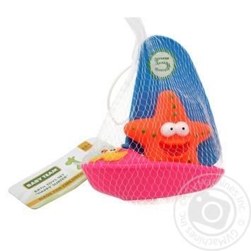 Набор игрушек Baby Team для ванной Веселый серфер 9007 - купить, цены на Фуршет - фото 1