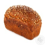 Bread rye-wheat seeds scalded