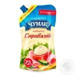 Chumak Mayonnaise Real 72% 350g