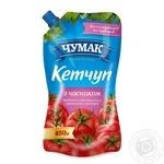 Кетчуп Чумак С чесноком 450г дой-пак Украина