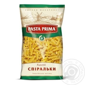 Макаронні вироби Pasta Prima спіралі 800г
