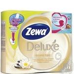 Туалетная бумага Zewa Deluxe Aqua Tube Aroma Spa 3 слоя 4шт
