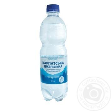 Novus Karpats'ka Dzherel'na Highly Carbonated Mineral Water 0,5l