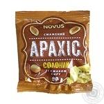 Арахіс смажений солоний зі смаком сиру Novus  90г