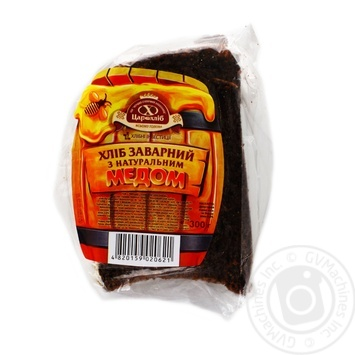 Хлеб Цар хлиб Заварной с медом 300г