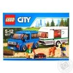 Конструктор LEGO City Great Vehicles Мікроавтобус і фургон 60117