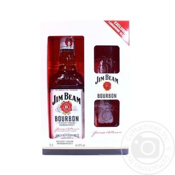 Виски Jim Beam White 40% 0,7л - купить, цены на Ашан - фото 4
