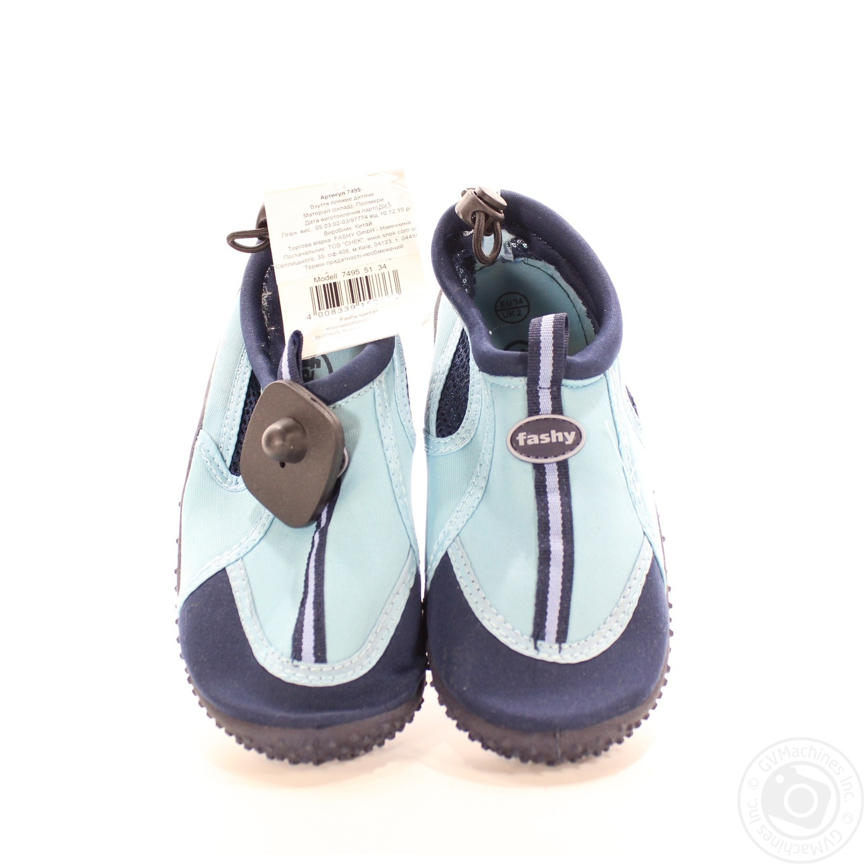 Взуття пляжне дитяче Fashyр.34 7495 51 → Для дому → Одяг та ... 24ed721224f45