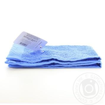 Рушник Zastelli махровий блакитний 30*50см