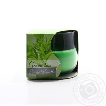 Свічка з ароматом Bispol зелений чай sn71/83 08*7см 24h