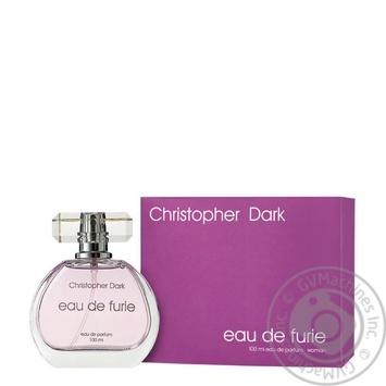 Вода парфюмированная Christopher Dark Eau de Furie женская 100мл