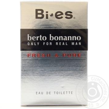 Туалетна вода Берто Бонанно (чол) 100мл - купить, цены на Novus - фото 1