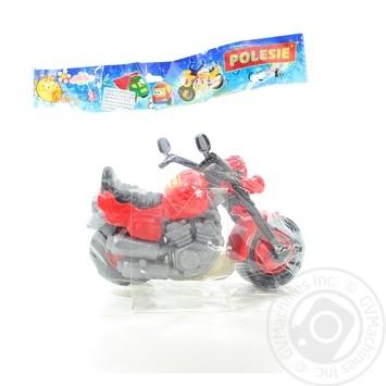 Игрушка Полесья Мотоцикл гоночный кросс - купить, цены на Novus - фото 2