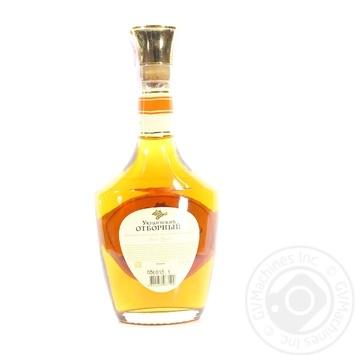 Ukrayinskiy vidbirniy 4 yrs V.S.O.P. cognac 40% 0,5l - buy, prices for Novus - image 2