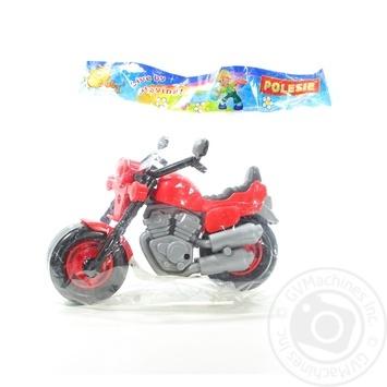 Игрушка Полесья Мотоцикл гоночный кросс - купить, цены на Novus - фото 1