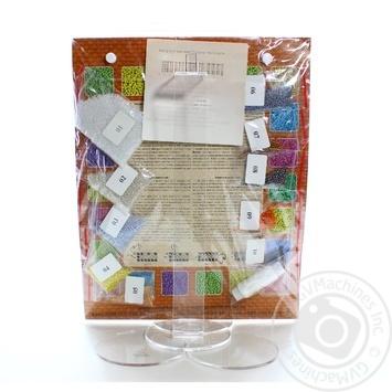 Набір для вишивки бісером Svit Art 18*24 квіти - купить, цены на Novus - фото 2