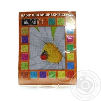 Набір для вишивки бісером Svit Art 18*24 квіти - купить, цены на Novus - фото 1