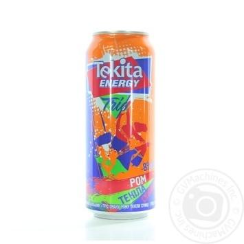 Напій слабоалкогольний Tecita Energy Trio Ром-Tекіла-Cуниця ж/б 8% 0,5л - купити, ціни на Novus - фото 1