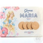 Печенье Grona Maria 310г - купить, цены на Novus - фото 1