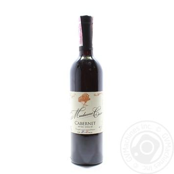 Madame Coco Cabernet Red Dry Wine 0.75l - buy, prices for Furshet - image 1
