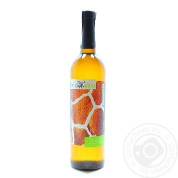 Вино Wild Touch Africa Moscato белое полусладкое 0.75л - купить, цены на Фуршет - фото 1
