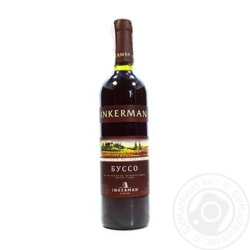 Вино Inkerman Буссо красное полусладкое 0,7л - купить, цены на Novus - фото 3