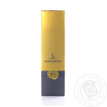 Sarajishvili V.S. cognac 40% 0,35l - buy, prices for Novus - image 1
