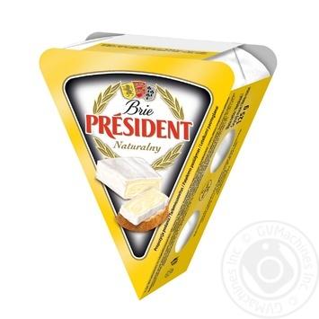 Сыр Президент Бри мягкий 60% 125г - купить, цены на МегаМаркет - фото 3