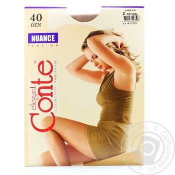 Колготы Conte Nuance 40 Den р.2 natural шт