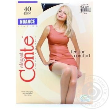 Колготи Conte Nuance 40 Den р.2 nero шт - купити, ціни на Novus - фото 4