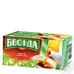 Чай Бесіда з ароматом липи, персика, лайму 26пак.UA39г
