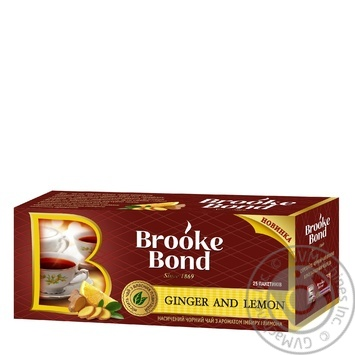 Tea Brooke bond lemon 38g