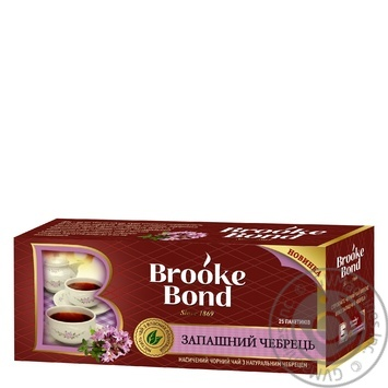 Tea Brooke bond thyme black 25pcs 38g