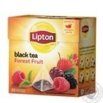 Чай черный Lipton Forest Fruit в пирамидках 20шт