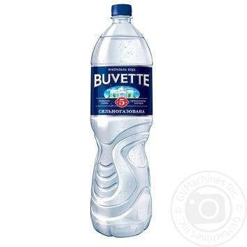 Вода Buvette №5 минеральная сильногазированная 1500мл