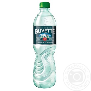 Вода мінеральна сильногазована лікувально-столова Buvette №7 0,5 л п/пл