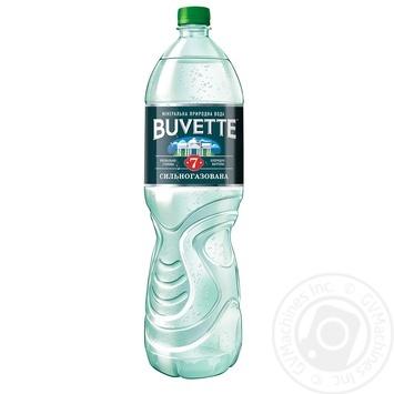 Вода Buvette №7 минеральная сильногазированная 1500мл