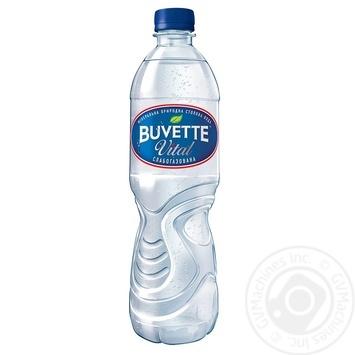 Вода Buvette Vital минеральная слабогазированная 0,5л