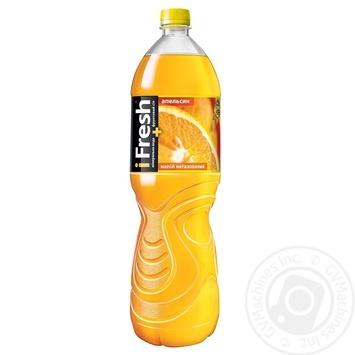 Напиток iFresh апельсин негазированный 1,5л - купить, цены на Фуршет - фото 1
